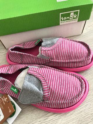 Sanuk 女童鞋 19cm