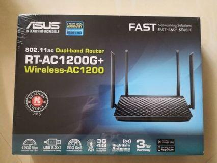 🚚 ASUS RT-AC1200G+ router