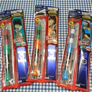 (MHA Todoroki Shouto) Pilot Dr X Grip shakeable mechanical pencil set / Stationery (Boku No Hero Academia/ My Hero Academia)