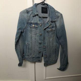 Denim jacket size 8