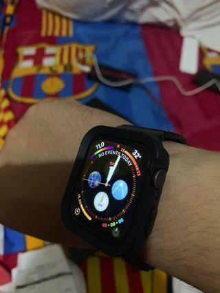 Apple Watch series 4 nike 44MM space grey garansi IBOX
