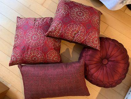 Freedom cushions from AUS
