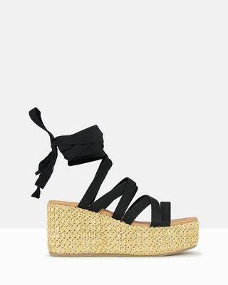 BETTS Strappy Wedge Sandals