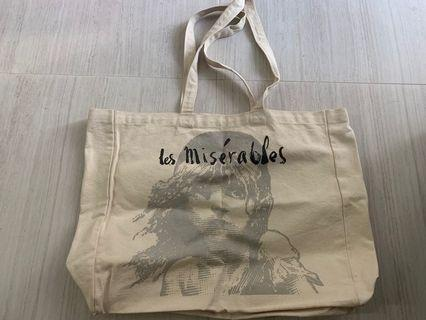 Les Miserables limited edition tote bag