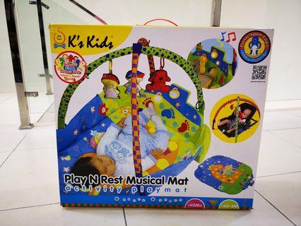 Musical playmat