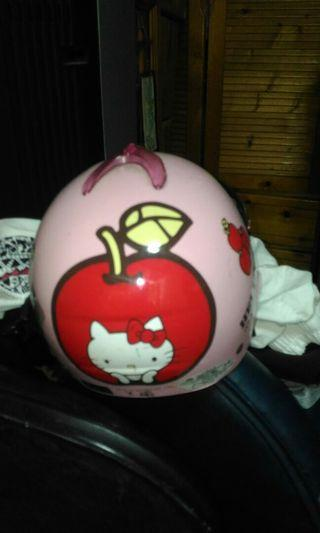 🚚 兒童安全帽一點Hello Kitty造型可愛