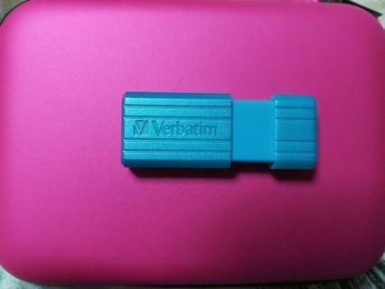 32GB 藍色 USB 手指 U盤 記憶體 儲存 容量 文件 圖片 照片 相 影片 清貨 減價
