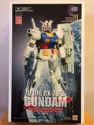 1/100 GUNDAM RX-78-2 首辦模型
