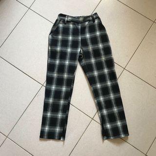 超級潮ㄉ格子褲