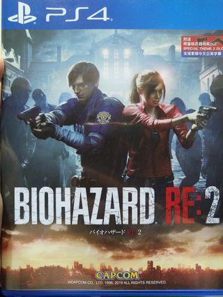 PS4 生化危機2 重製 resident evil 2 remake bio hazard