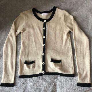 韓國 小香風 羊毛 冷外套