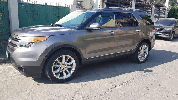 2012 Ford Explorer 4x4 Limited