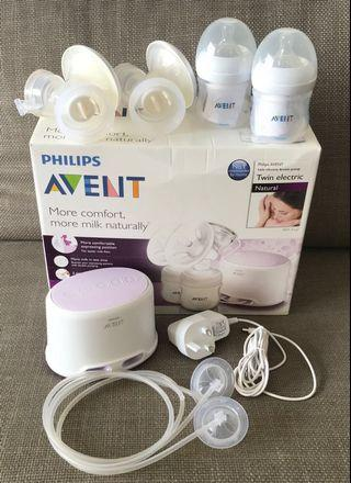 🚚 Philips Avent Double Breast Pump