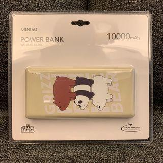 Airline Approved We Bare Bears 10000mAh Power Bank