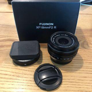 Fujinon XF18mm F2