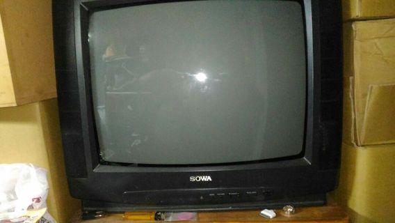 大頭電視一台Sony的