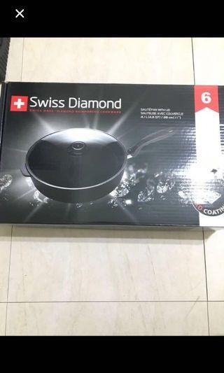 28公分鑽石鍋