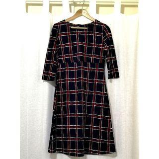 BN Vintage Checkered Dress
