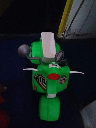 #BAPAU motor mainan anak