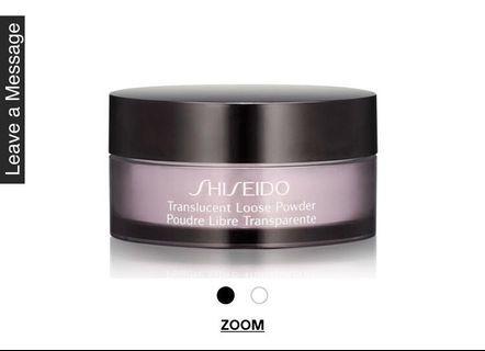Shiseido Translucent Loose Powder sample #SuriaKLCC