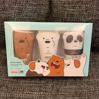 Official Licensed Limited Edition We Bare Bears Nourishing Hand Cream