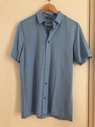 COS shirt in blue (XS)