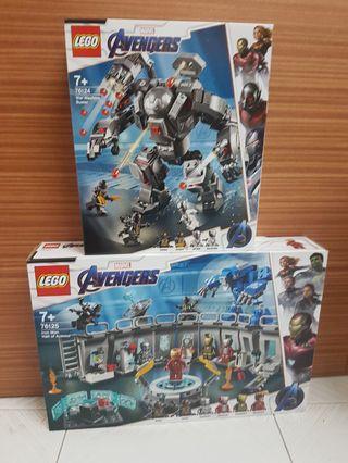 Lego 76124 & Lego 76125