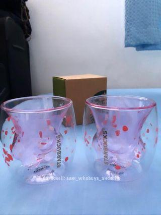 🚚 *DEFECTIVE STOCKS OFFER* Starbucks Cat Paw Cup (No Waiting - Ready Stocks)