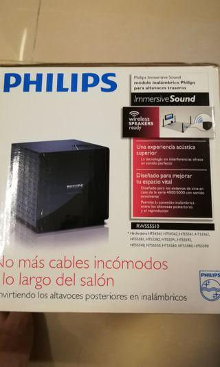 Philips wireless speakers transmitter sound 5.1