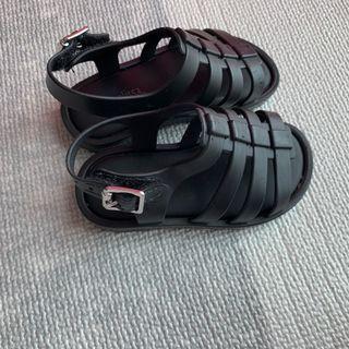 Unisex Mini Melissa Black Sandal Flox size 21