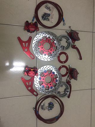 Mosda-Disc Brake Rear Set