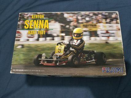 FUJIMI Senna 冼拿 Kart 模型一盒