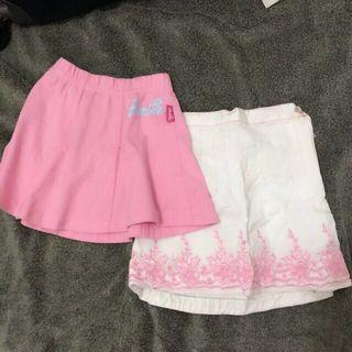 Bundle Authentic Barbie Skirts Size 2/ 2T