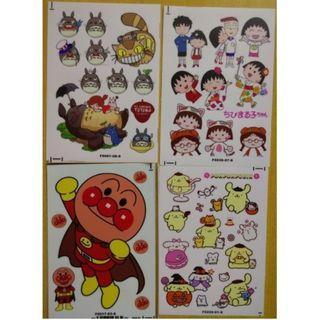 (Noo.ZY12ZY) 卡通貼紙 卡通防水貼紙 防水貼紙 waterproof sticker (plastic)