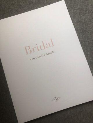 [包郵] VCA Vân Cleef & Arpels Bridal Jewellery Book Catalog 高級 婚戒系列 首飾書