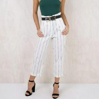 PRINCESS POLLY Striped Culottes