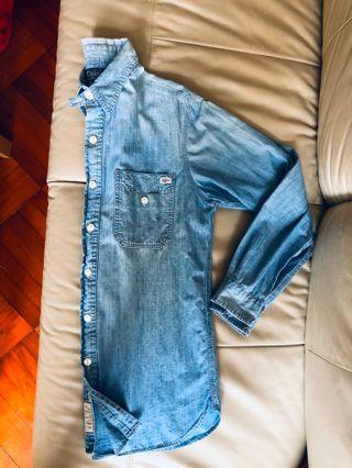 Polo Ralph Lauren 👍🏻 牛仔Shirt , 正貨任驗!size S , M都岩著