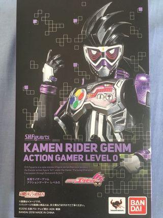 🚚 Shf kamen rider gemn level 0