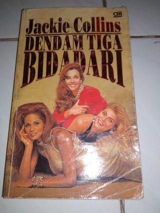 Novel Dendam Tiga Bidadari