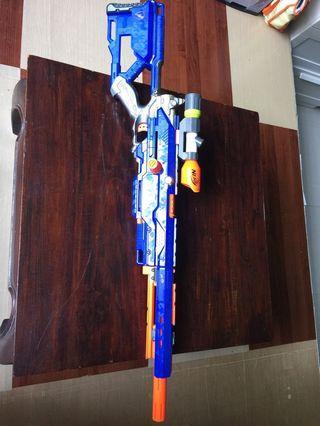 Nerf Longstrike with modulus scope