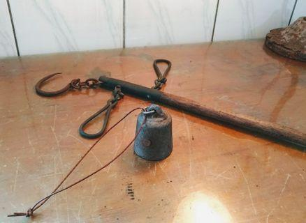 15斤木桿秤—古物舊貨、早期度量衡器具收藏