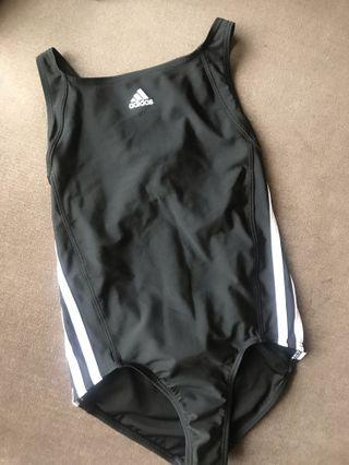 Adidas 女童泳裝 (130公分)