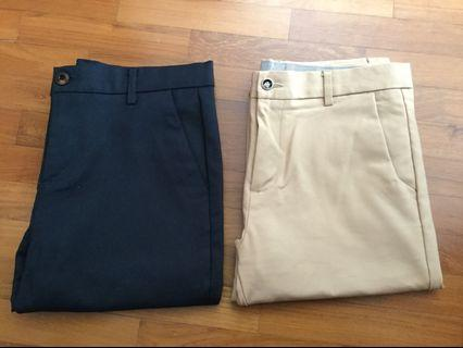 Lelong Sale - Men's slim fit trousers
