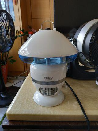 TECO 東元 紫外光誘蚊風扇型捕蚊燈