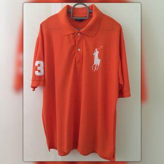 BN Orange Polo Ralph Lauren T-Shirt (L)