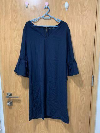 🚚 Navy Loose Dress