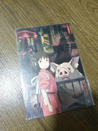 Spirited Away Postcard
