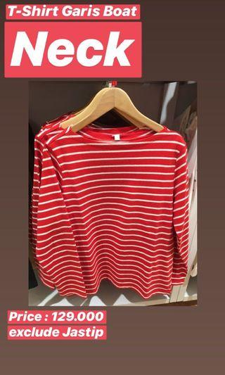 T-Shirt Garis Boat