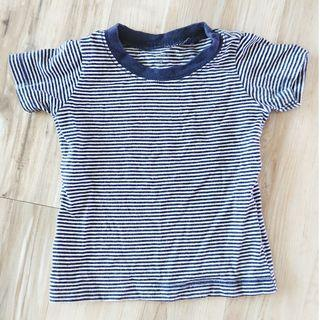 Carter's stripes tee (for 9-mth)