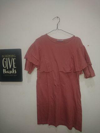 Zara pink dress